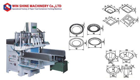 Food Containers Making Machine